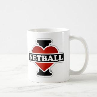 Amo el Netball Taza De Café