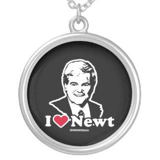 Amo el Newt Pendientes