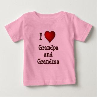 Amo el niño del abuelo y de la abuela/la camisa