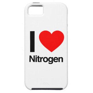 amo el nitrógeno iPhone 5 Case-Mate cobertura