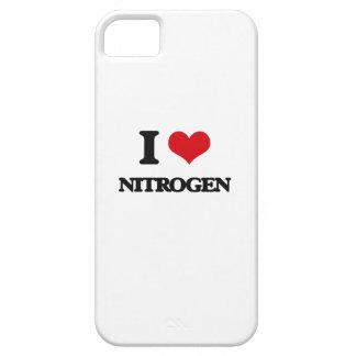 Amo el nitrógeno iPhone 5 Case-Mate carcasas