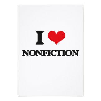 Amo el Nonfiction Comunicados Personalizados