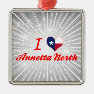 Amo el norte de Annetta Tejas Ornamento Para Arbol De Navidad