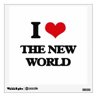 Amo el nuevo mundo