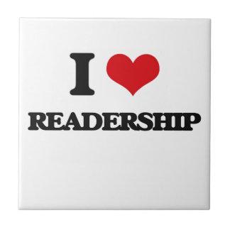 Amo el número total de lectores tejas  cerámicas