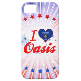 Amo el oasis, Wisconsin iPhone 5 Case-Mate Carcasa