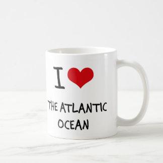 Amo el Océano Atlántico Taza