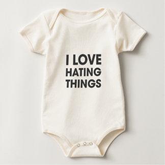 Amo el odiar de cosas body para bebé