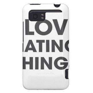Amo el odiar de cosas carcasa para HTC vivid