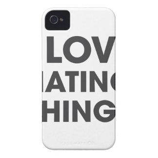 Amo el odiar de cosas carcasa para iPhone 4