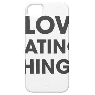 Amo el odiar de cosas funda para iPhone SE/5/5s