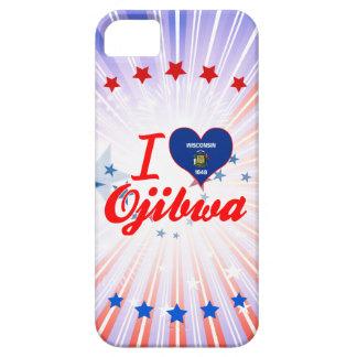 Amo el Ojibwa Wisconsin iPhone 5 Coberturas