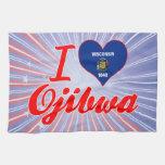 Amo el Ojibwa, Wisconsin Toalla