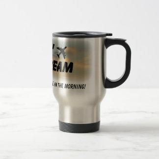 Amo el olor del combustible de avión tazas de café