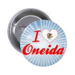 Amo el Oneida, Illinois Pin