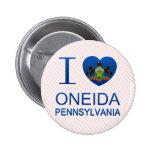 Amo el Oneida, PA Pins