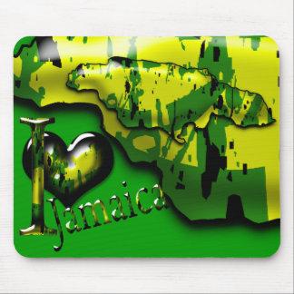 Amo el ordenador Mousepad de Jamaica