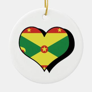 Amo el ornamento de Grenada Ornamentos Para Reyes Magos