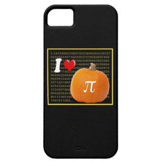 Amo el oro del pastel de calabaza y del naranja de iPhone 5 Case-Mate carcasas