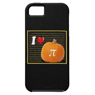Amo el oro del pastel de calabaza y del naranja de iPhone 5 Case-Mate fundas