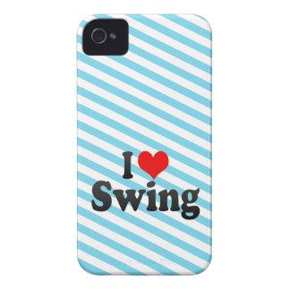 Amo el oscilación iPhone 4 Case-Mate fundas