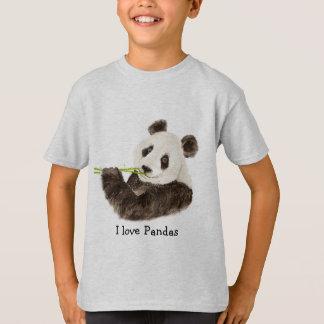 Amo el oso asiático de las pandas, animal de la poleras