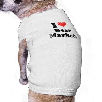 AMO el OSO MARKETS png Camisetas De Mascota