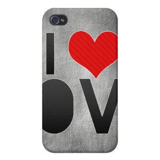Amo el OV iPhone 4 Cárcasa