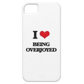 Amo el Overjoyed iPhone 5 Cobertura