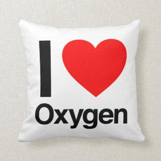 amo el oxígeno almohada