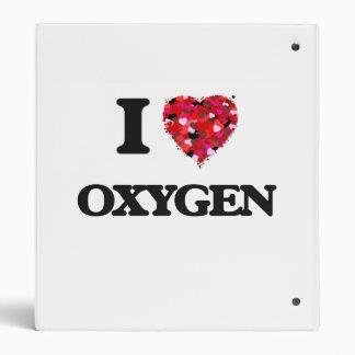 """Amo el oxígeno carpeta 1"""""""