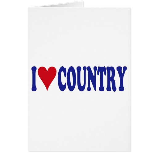 Amo el país tarjetas
