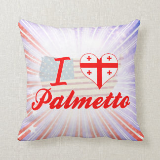 Amo el Palmetto, Georgia Cojines