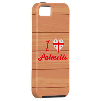 Amo el Palmetto, Georgia iPhone 5 Case-Mate Carcasas