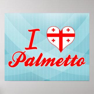 Amo el Palmetto, Georgia Posters
