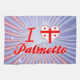 Amo el Palmetto, Georgia Toallas De Cocina