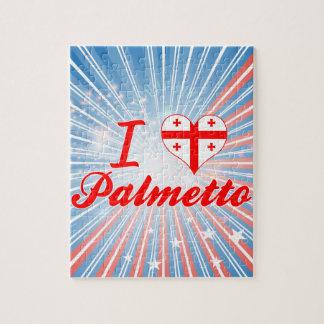 Amo el Palmetto, Georgia Puzzle Con Fotos