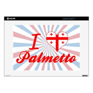 Amo el Palmetto, Georgia Portátil Skin