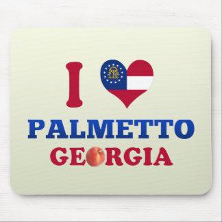 Amo el Palmetto, Georgia Alfombrilla De Ratones