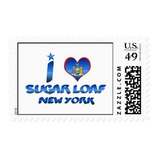 Amo el pan de azúcar, Nueva York Sellos