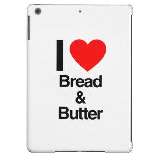 amo el pan y la mantequilla funda para iPad air