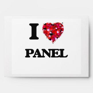 Amo el panel sobres