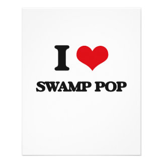 Amo el PANTANO POP Flyer Personalizado