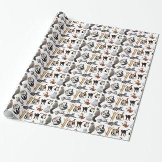 Amo el papel de embalaje de los gatos papel de regalo