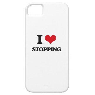 Amo el parar iPhone 5 funda