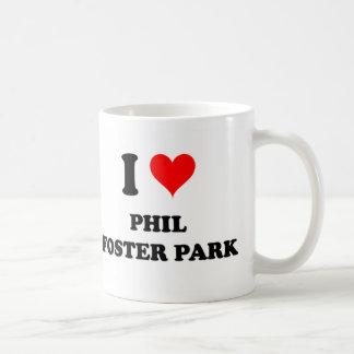 Amo el parque adoptivo la Florida de Phil Taza De Café