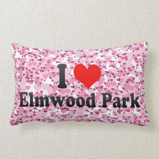 Amo el parque de Elmwood, Estados Unidos Almohadas
