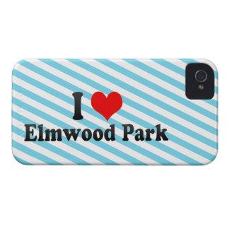 Amo el parque de Elmwood, Estados Unidos iPhone 4 Case-Mate Fundas
