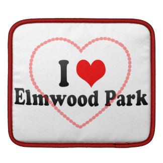 Amo el parque de Elmwood, Estados Unidos Manga De iPad