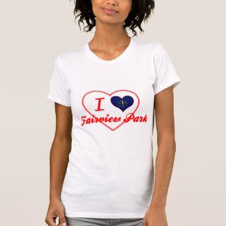 Amo el parque de Fairview, Indiana Camiseta